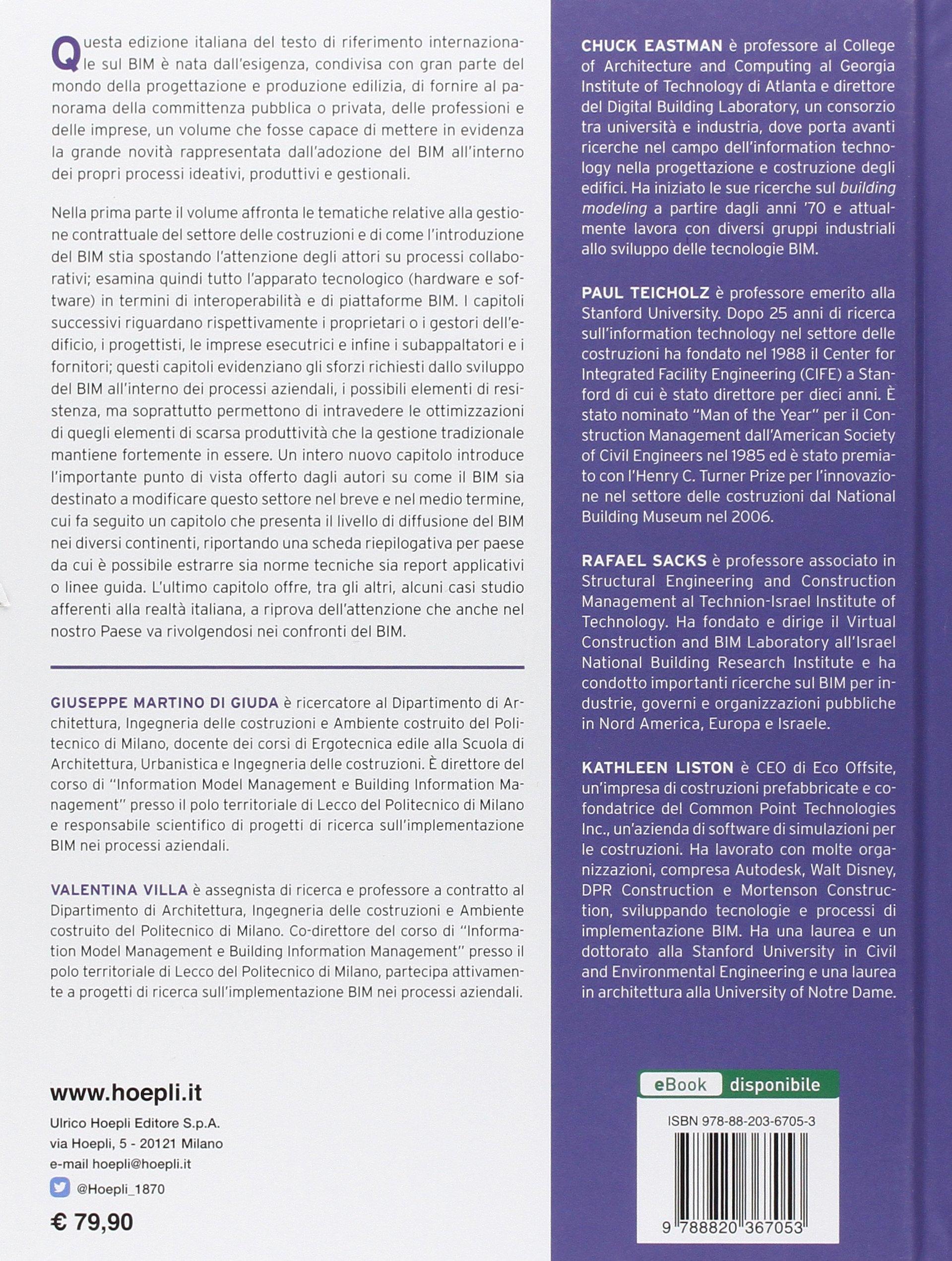 Il BIM. Guida completa al Building Information Modeling per ...