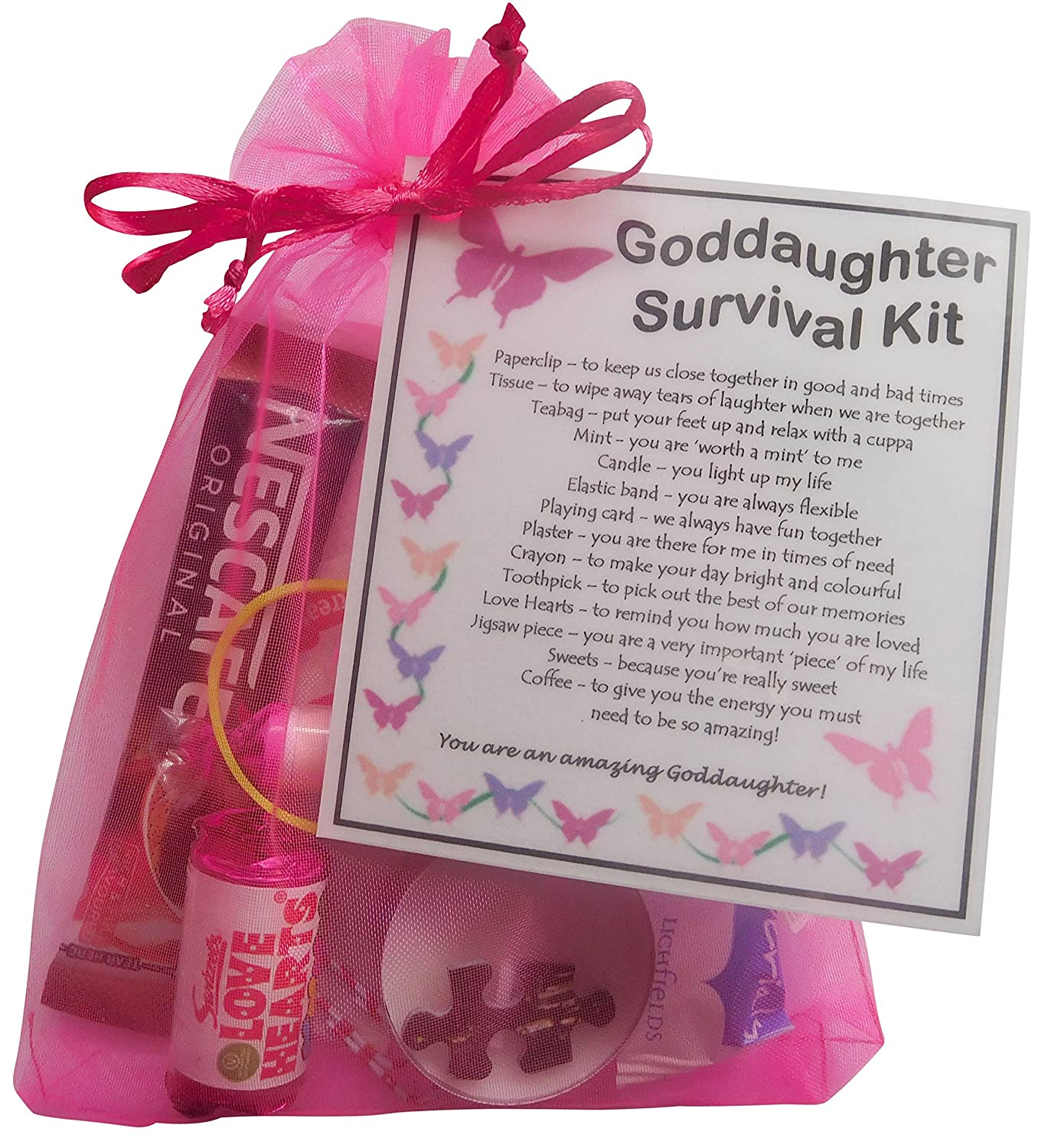 Nesca Presents Valued Approaches To >> Smile Gifts Uk Goddaughter Survival Kit Gift Great Present For Birthday Christmas Etc Goddaughter Gift Gift For Goddaughter Goddaughter