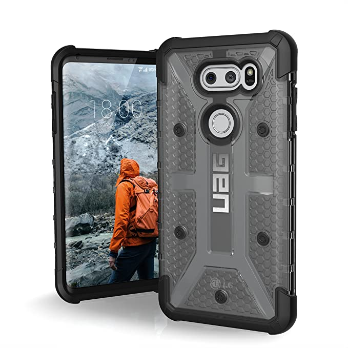 superior quality 2ba08 a456c URBAN ARMOR GEAR [UAG LG V30/V30+ Plasma Feather-Light Rugged [Ash]  Military Drop Tested Phone Case