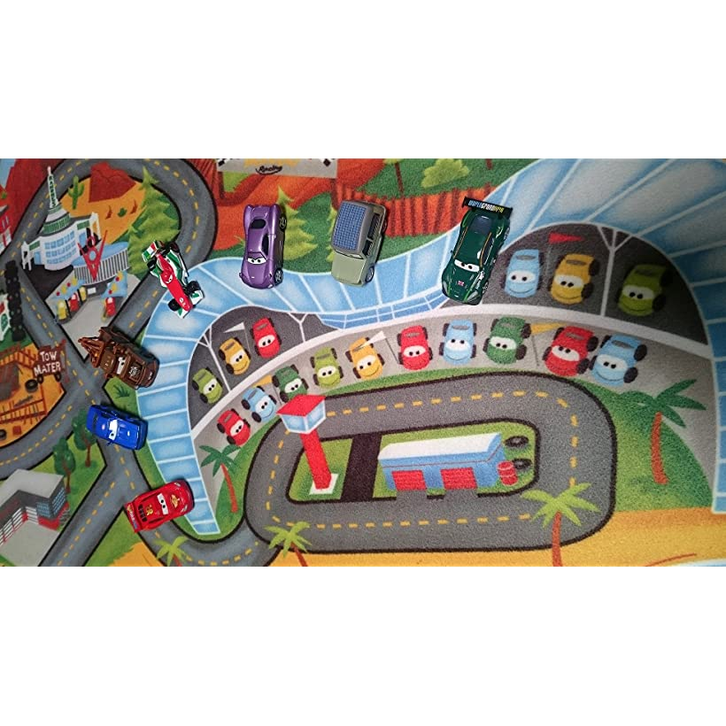 Disney Cars Toys Rug 2017 HD Cars3 Kids Game Rugs Throw