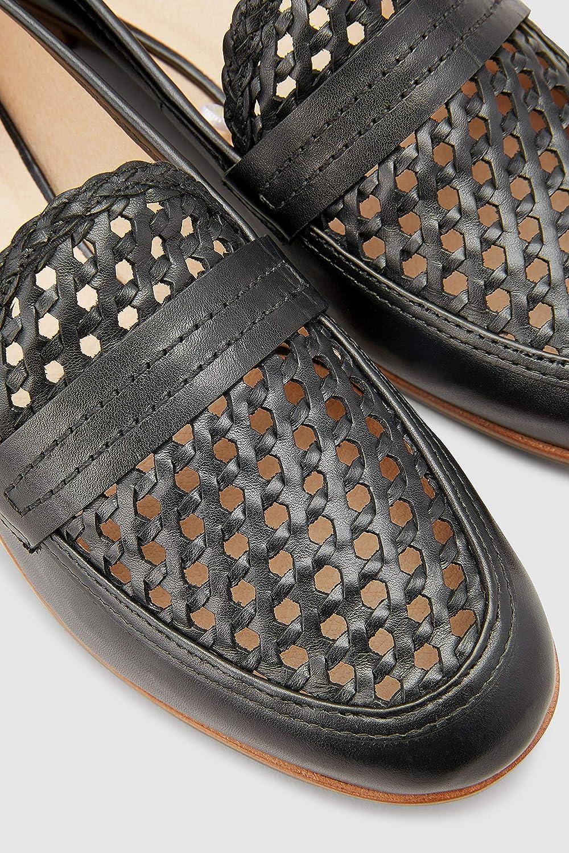 Next Next Next Damen Signature Forever Comfort Flecht Lederloafer 21925a