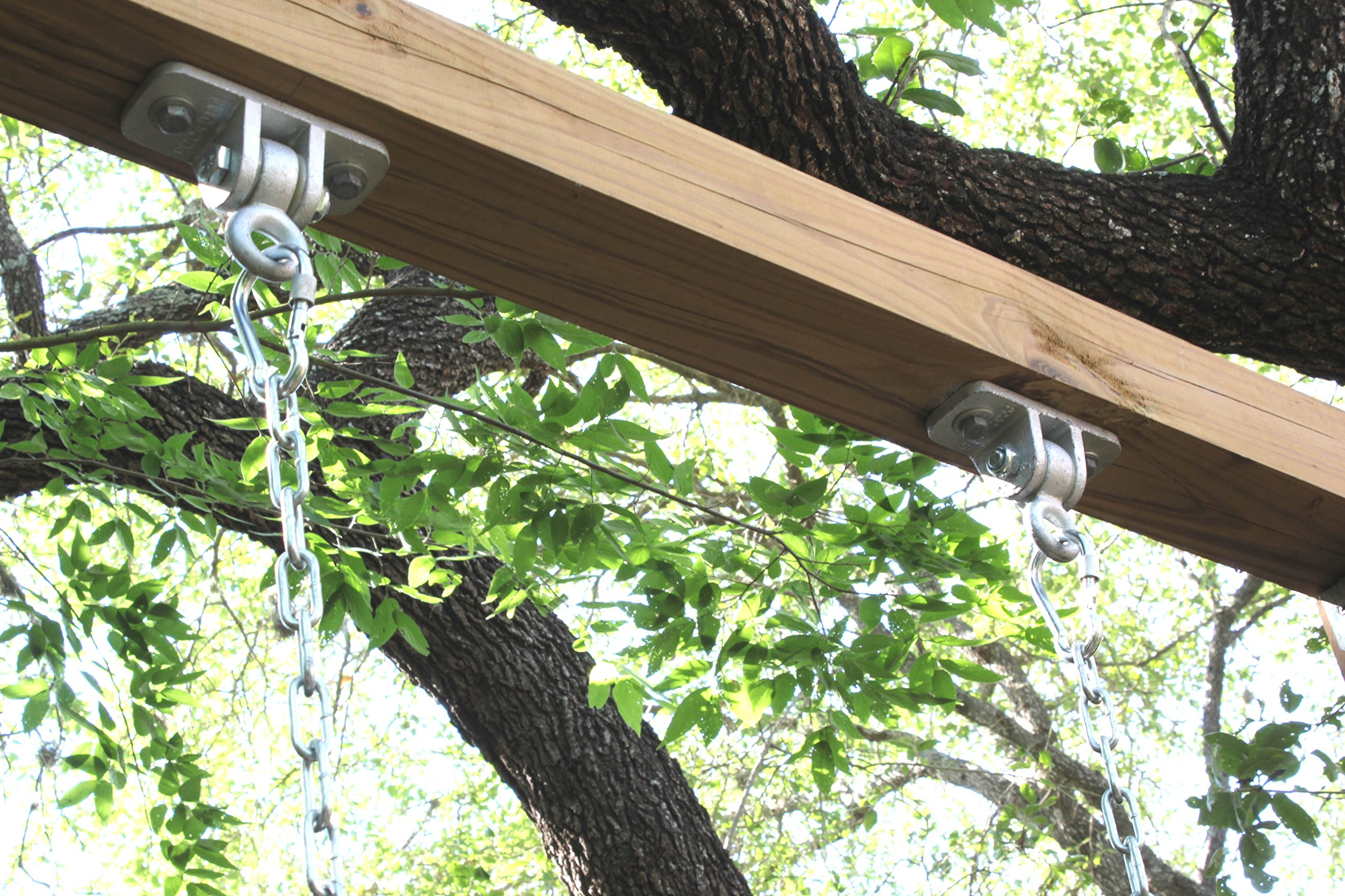 Heavy Duty Swing Hangers For Playground Yoga Porch Seat Hanging Locking Hook
