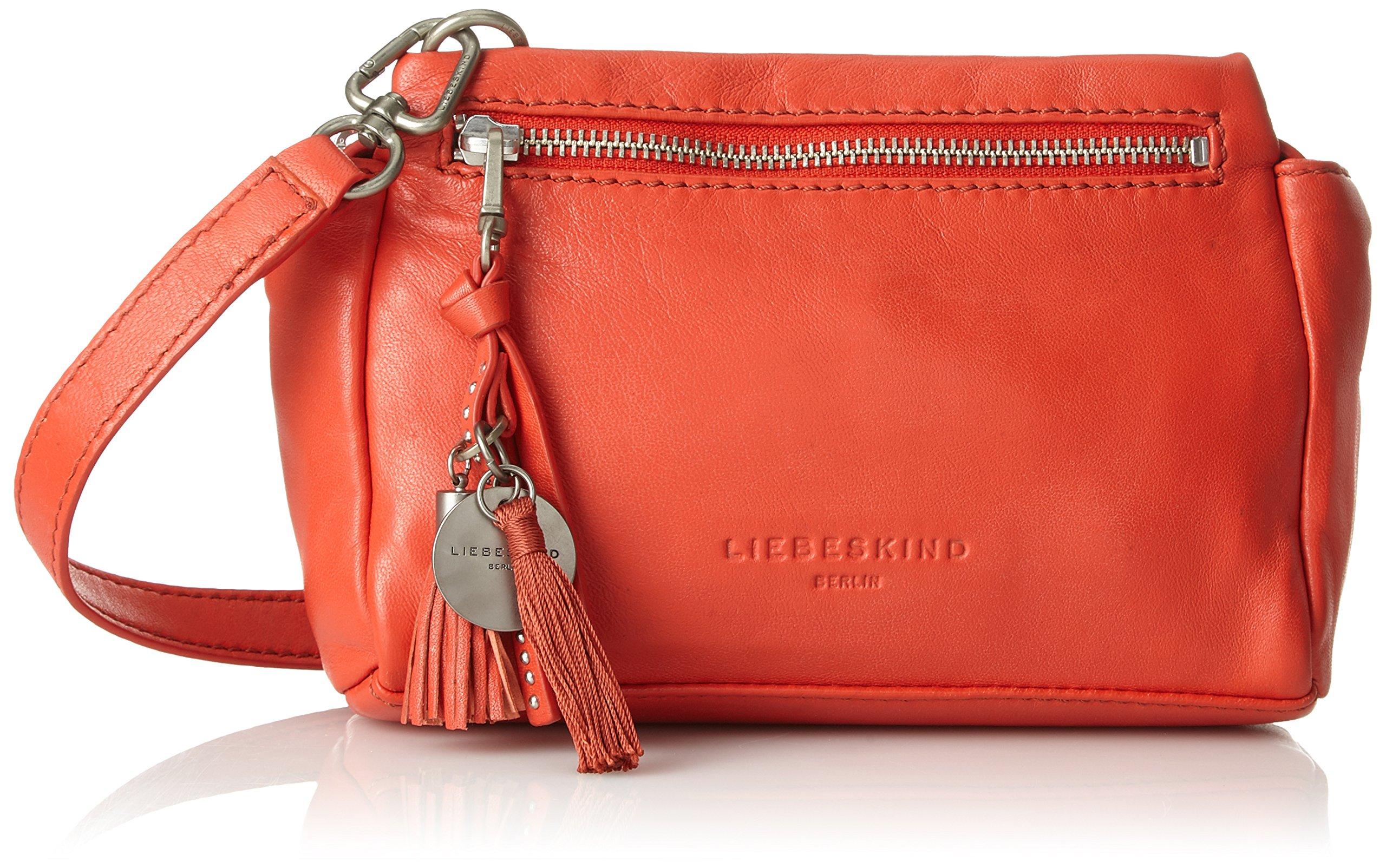Liebeskind Berlin - Corinto Mamoun, Women's Bag Organiser, Red (Hibiscus), 7x9x14 cm (B x H x T) by Liebeskind Berlin