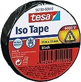 Tesa Isolierband, schwarz, 1 Rolle