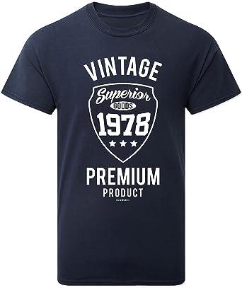 Geschenk Zum 40. Geburtstag Mann - Vintage Premium 1978 T-Shirt - 40.