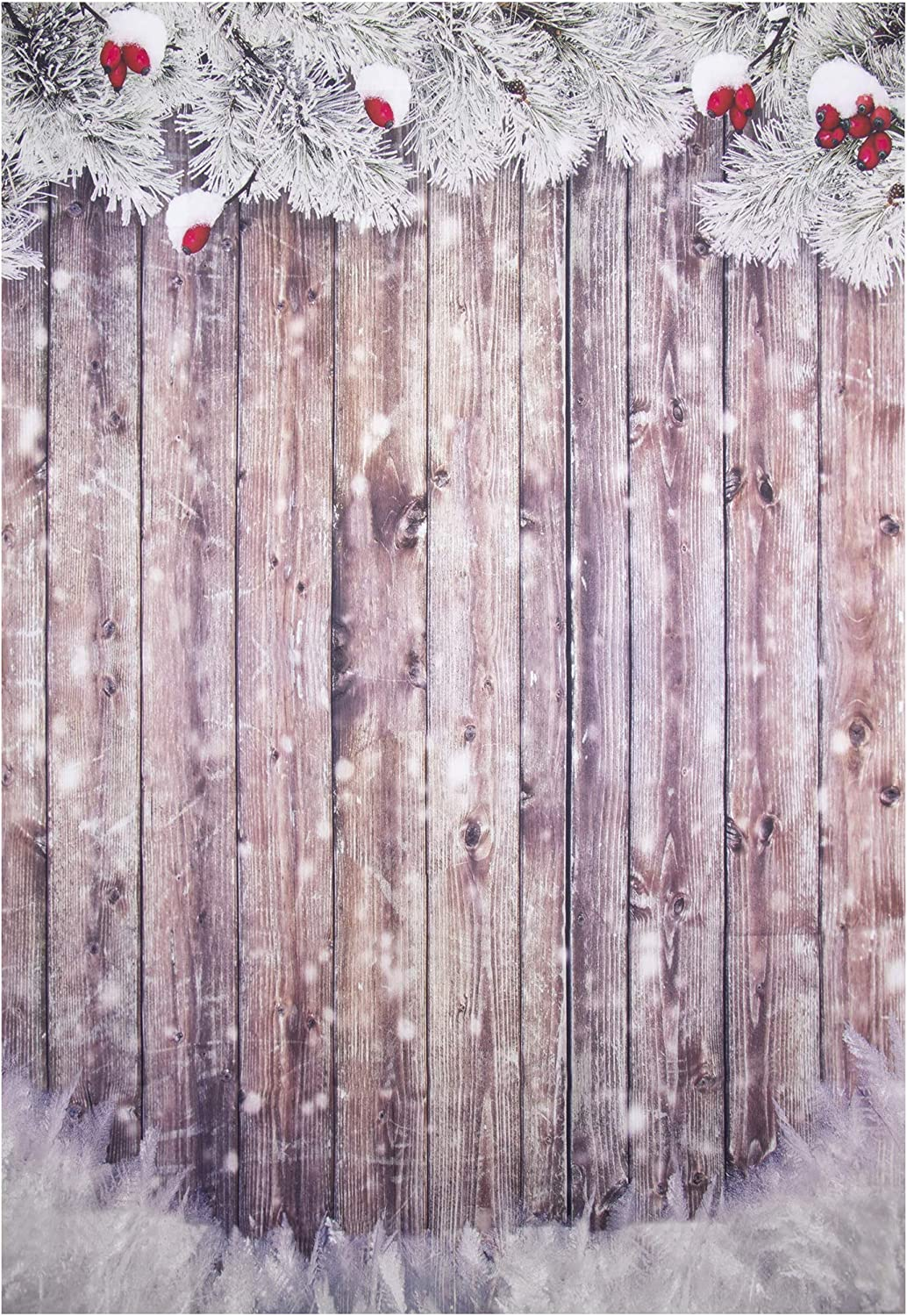 7/×5ft Photography Backdrops Vinyl Christmas Snow Easy to Carry Photo Backdrop Wall Decorations Event Parties Birthday Parties Creative Background Wall Drop for Children or Adult