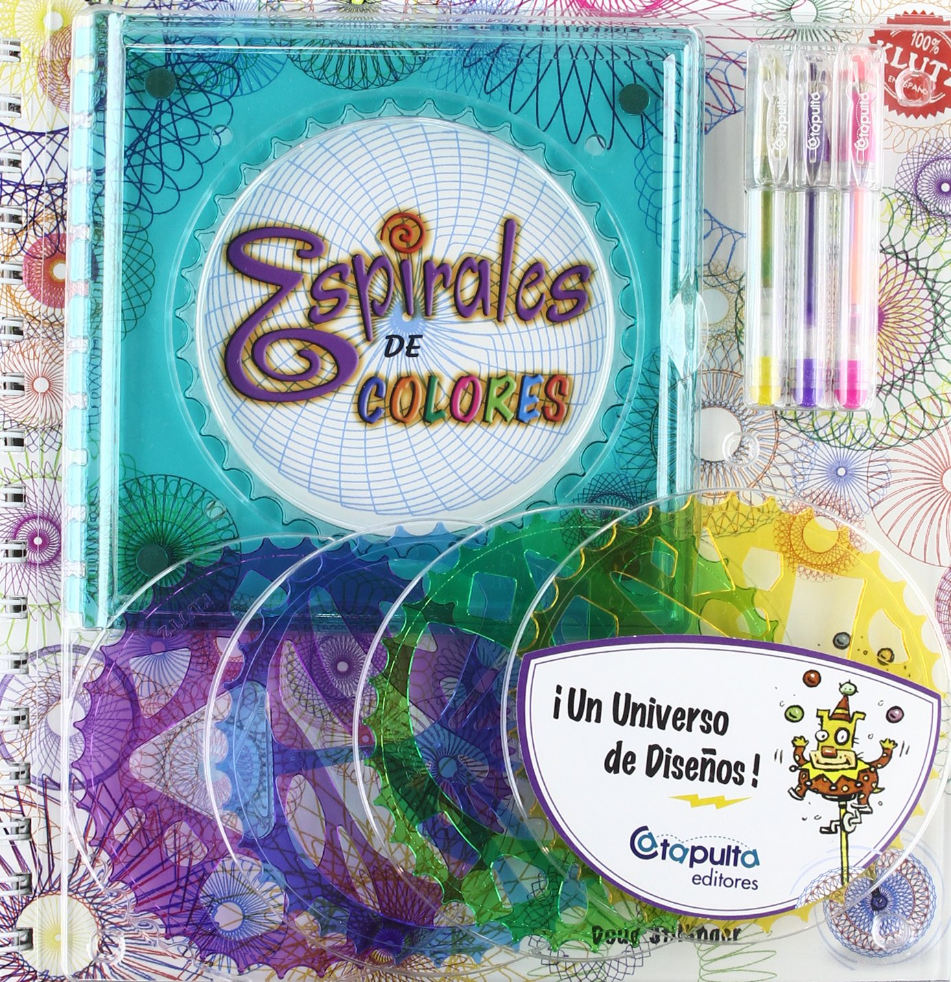 Espirales de colores Spiral-bound – October 30, 2004