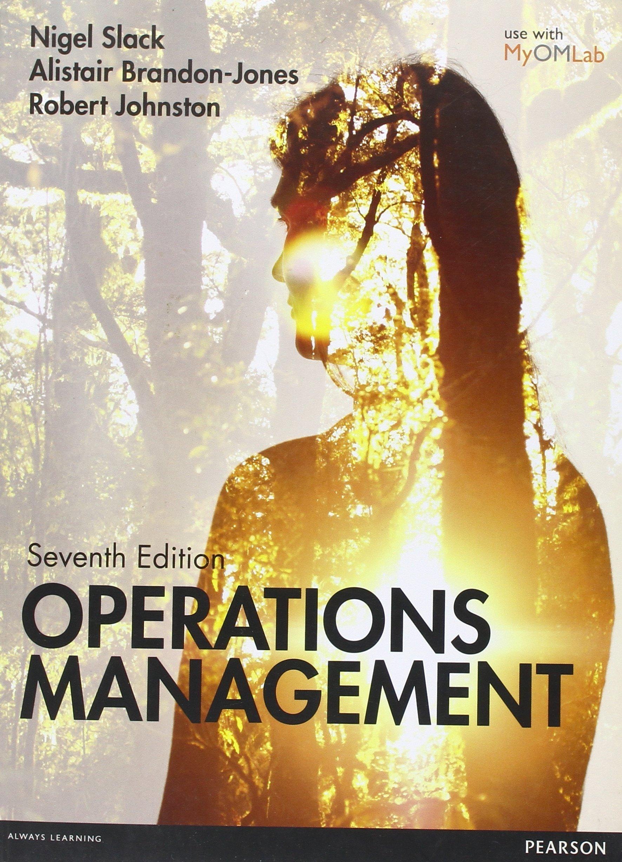 operations management nigel slack 7th edition