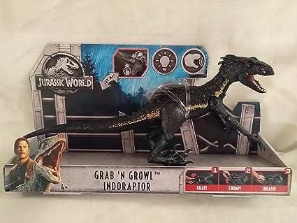 Jurassic World Grab /'N Growl Indoraptor Dinosaur Kids Toys Play