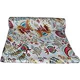 Maviss Homes Beautifuly Designed Dress Making Hand Block Printed Fabric |Indian Cotton Craft Sewing Material Supplies | Fabri