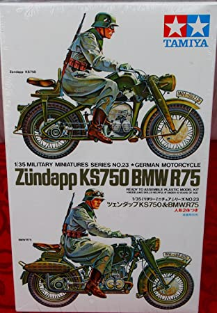 Tamiya 35023 - Maqueta Para Montar, Motocicletas Zündapp ...