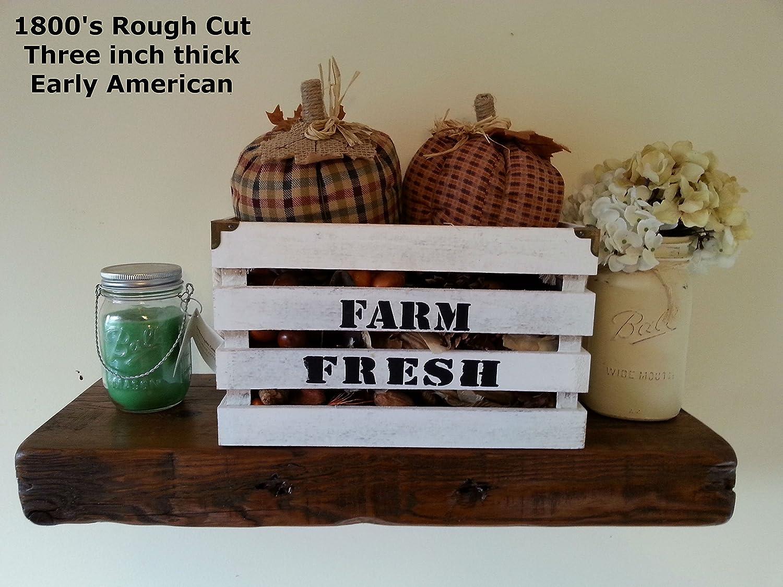 Amazon Reclaimed Barn Wood Floating Shelf 24 X 8 X 3