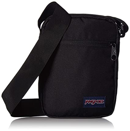 9a3fa5ccf Amazon.com: JanSport Weekender Crossbody Mini Bag Black: Sports ...
