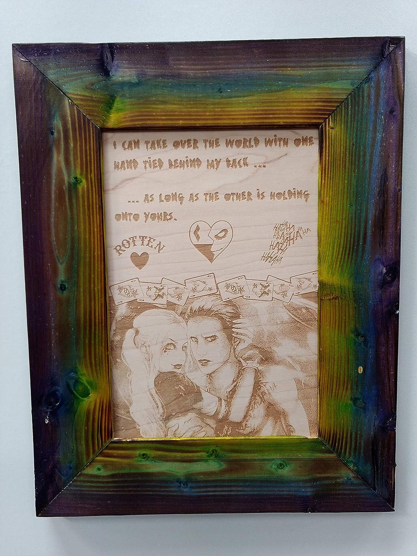 com harley quinn joker love quote handmade