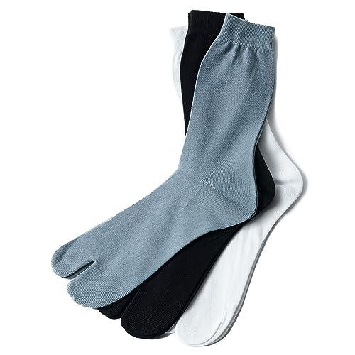TRAZITA-Calcetines japoneses altos unidas, Blanco (blanco), talla única