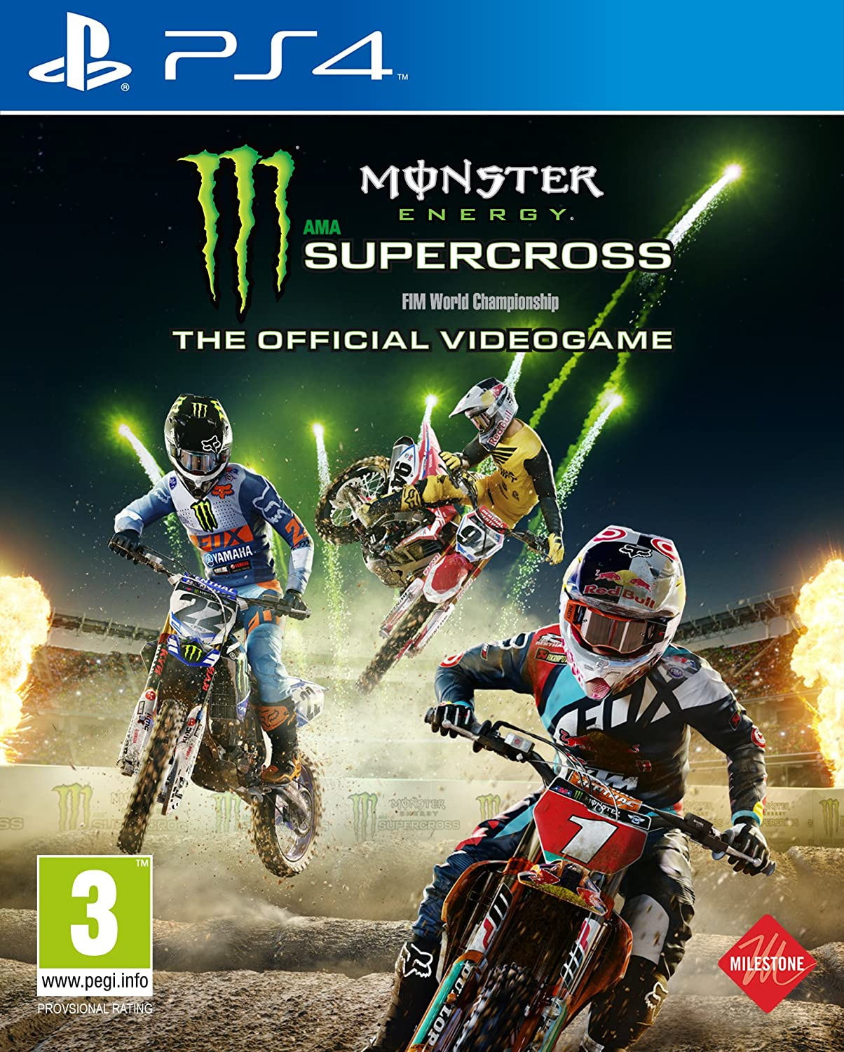 The Official Monster Energy Supercross - PlayStation 4 ...