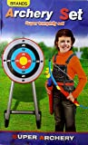 Toyshine Big Size Archer Toy with Target, Suction Darts, and Quiver