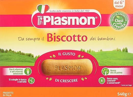 22 opinioni per Plasmon Biscotto Classico- 3 confezioni da 540 gr- Totale: 1.62 kg