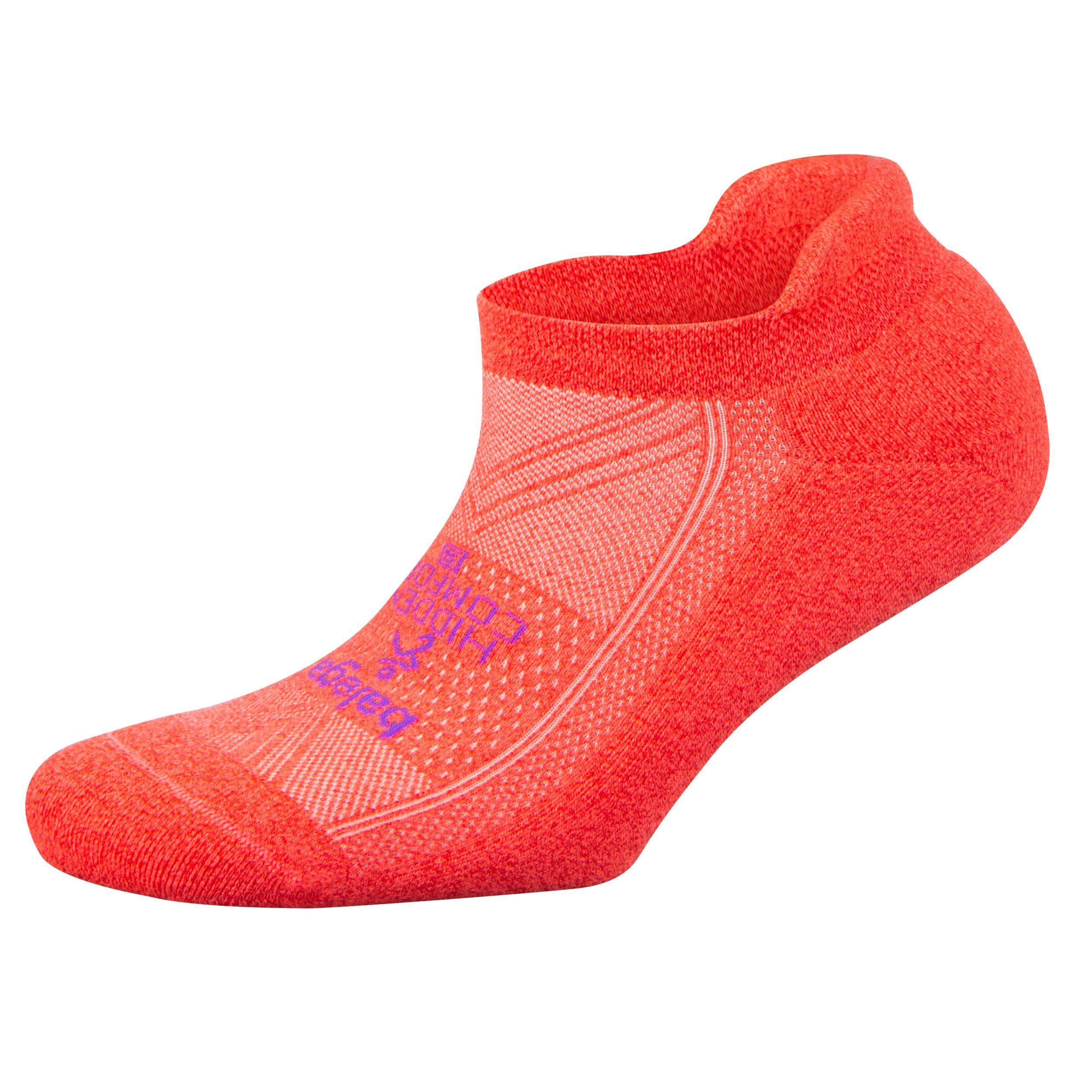 Balega Hidden Comfort No-Show Running Socks for Men and Women (1 Pair), Cherry, Small