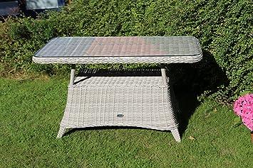 Amazon De Destiny Loungetisch Merano Vintage Weiss Tisch Gartentisch