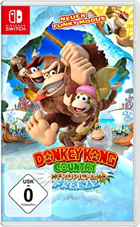 Donkey Kong Country Tropical Freeze - Nintendo Switch ...