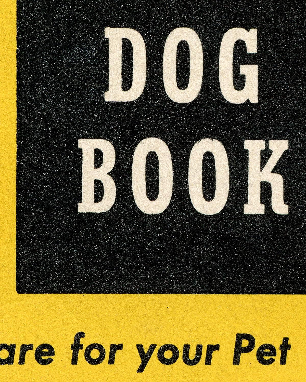 Antique up to full-size 24 x 36 Pop Art Mid-Century Advertising Vintage DOG POSTER! - 1950s Milk Bone Pets Boston Terrier
