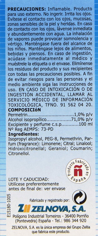 Loción Cupex ZZ Tratamiento Antipiojos - 100 ml