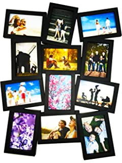 bestbuy frames large puzzle style wall hanging collage picture framefits standard 4x6 inch photos