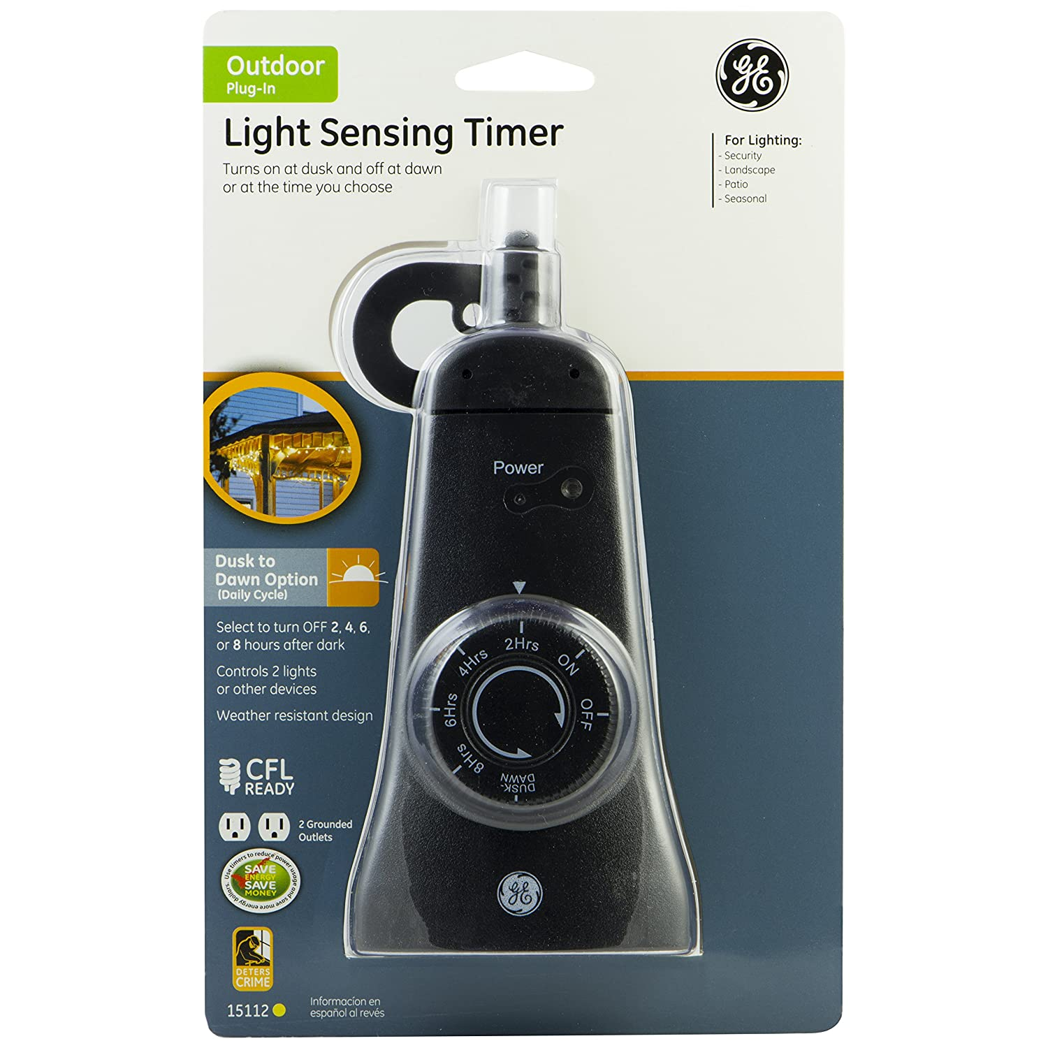 Troubleshooting Dead Outlets The Family Handyman Ge Outdoor 24 Hour Photoelectric Dusk To Dawn Light Sensing Timer Grounded 2 Outlet Black 15112 Electronics