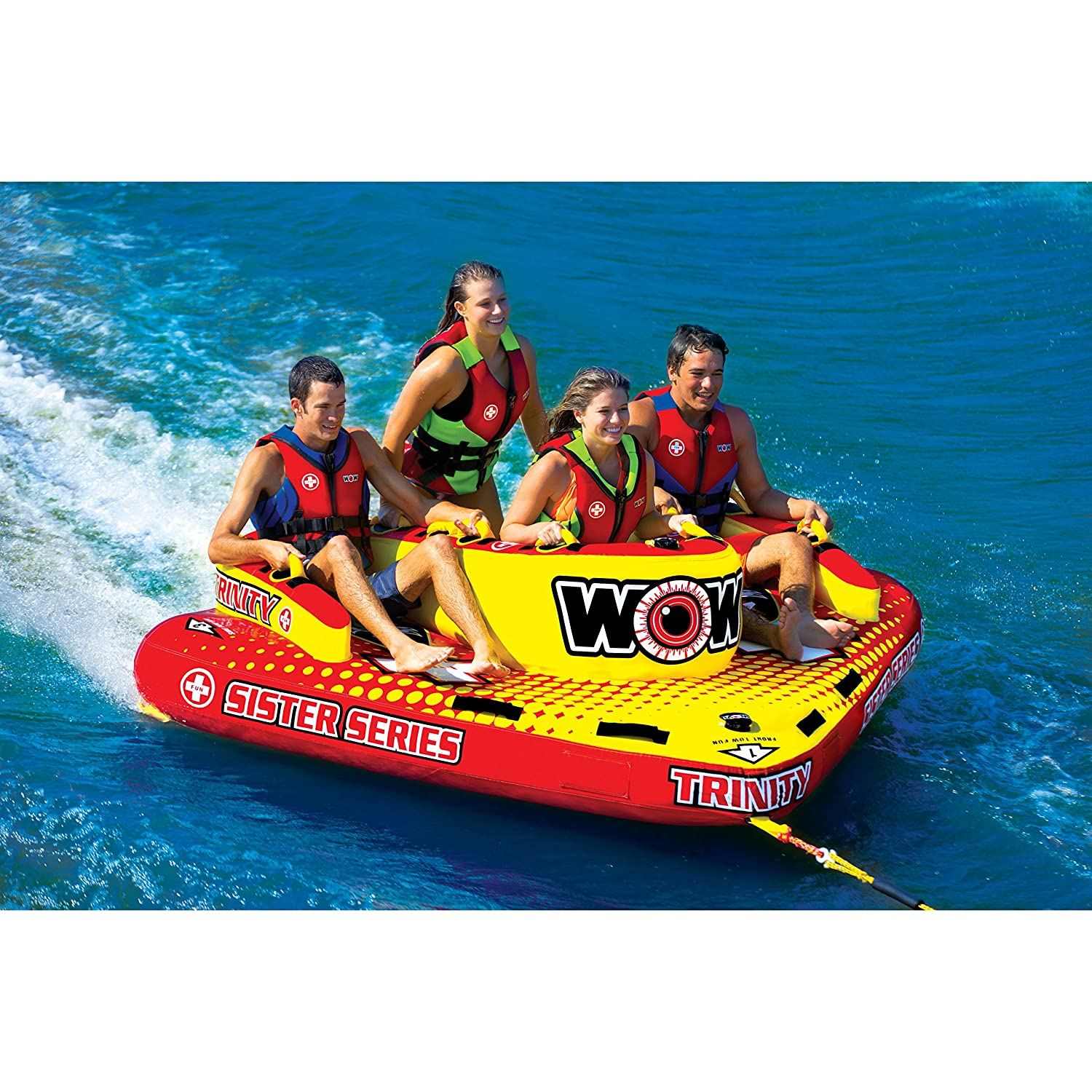 Amazon.com : WOW World of Watersports, 15-1080, Trinity Sister Series Face to Face