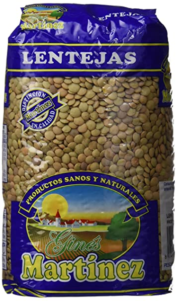 Ginés Martínez Lentejas Castellanas - 1 kg - [Pack de 10 ...