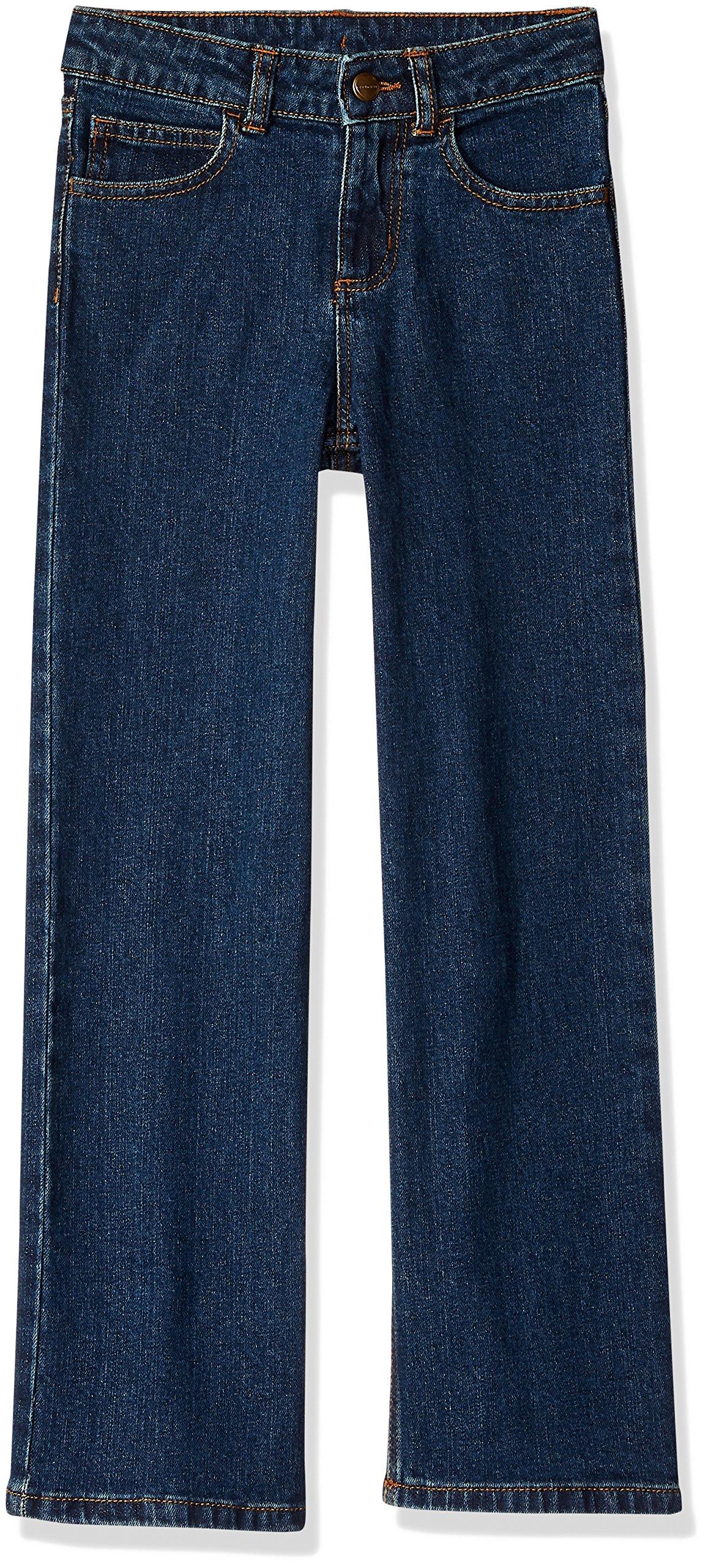 Carhartt Big Girls' Denim 5 Pocket Jean, Dark Blue, 10