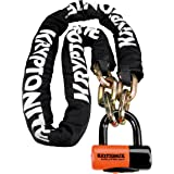 Kryptonite New York Chain 1217 Bicycle Lock with Evolution Series-4 14mm Disc Bike Lock