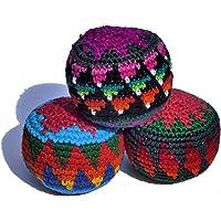 Juggling balls x 3 fair trade, assorted colours