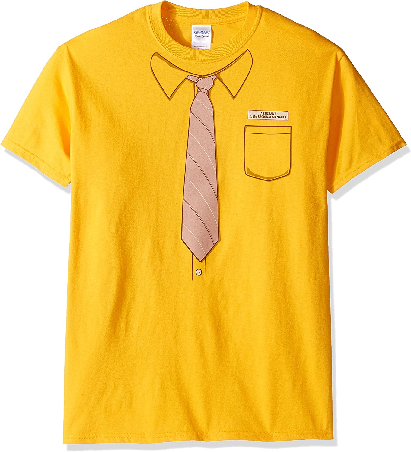 T-Line Men's The Office Tv Series Dwight Work Graphic T-Shirt