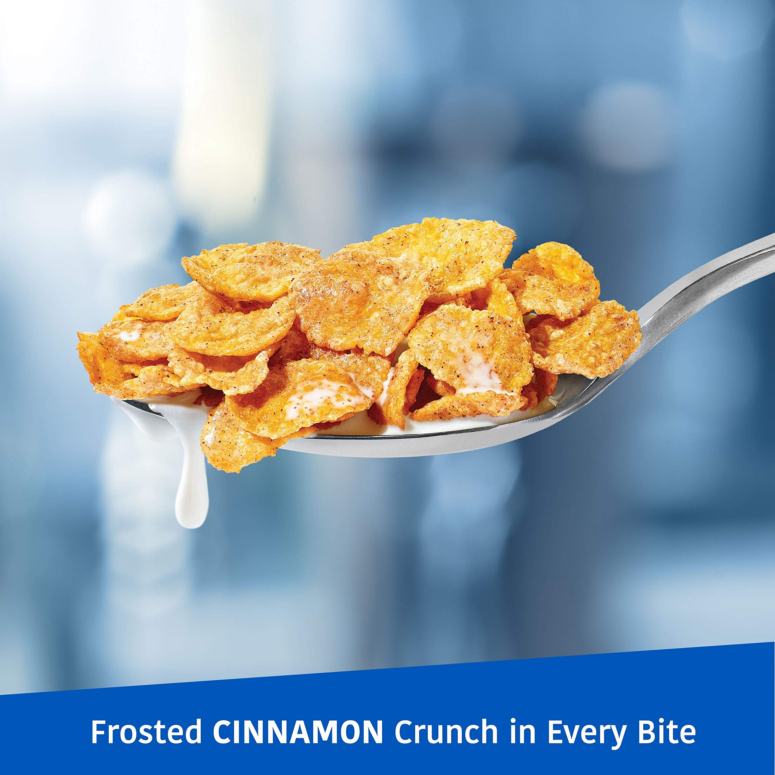 Kellogg's Breakfast Cereal, Frosted Flakes, Cinnamon, Fat-Free, 13.5 oz Box(Pack of 16) by Kellogg's (Image #5)