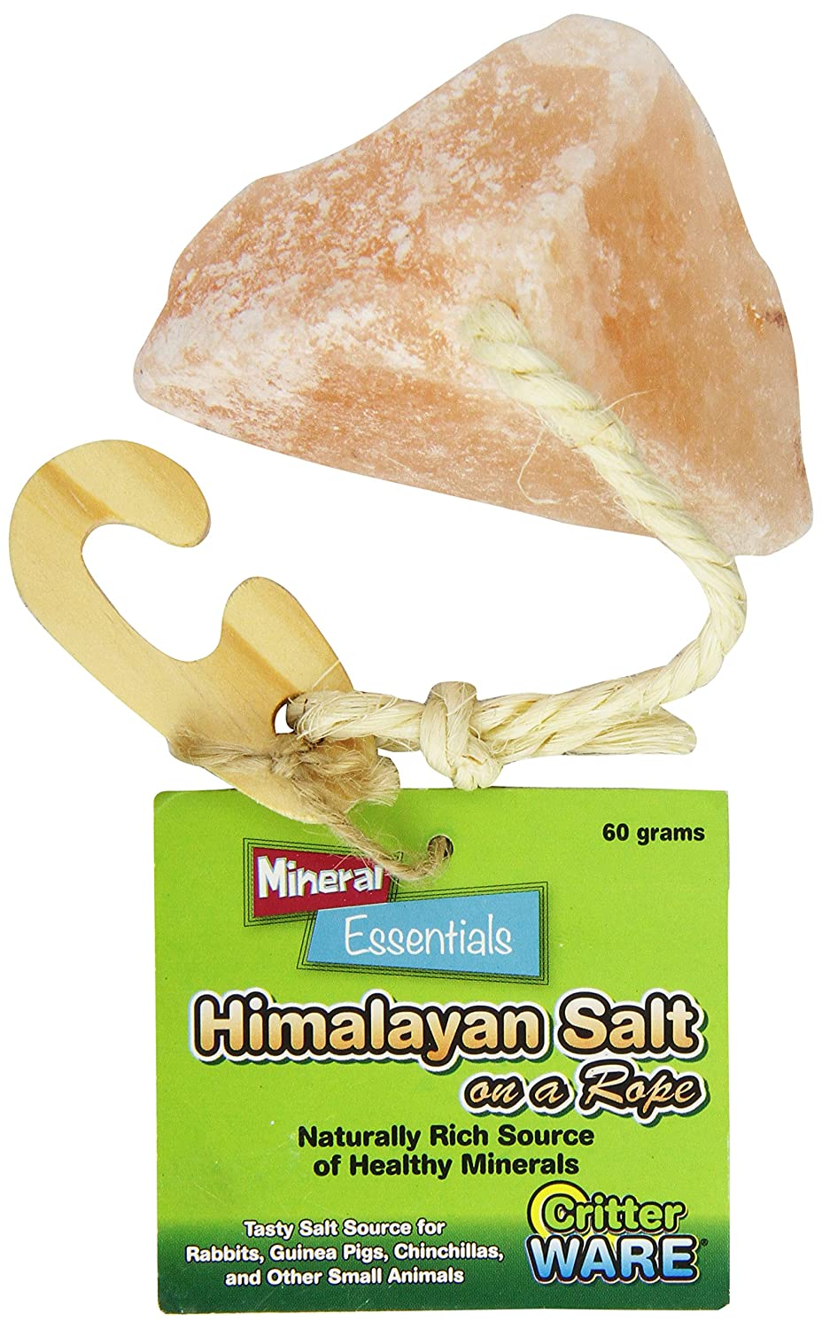 Ware Manufacturing Himalayan Salt on a Rope Small Pet Chew Treat 3104