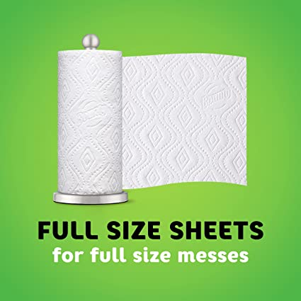 Amazon.com: Bounty Paper Towels, Full Sheet, 12 Super Rolls: Health & Personal Care