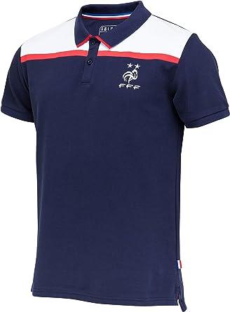 Camiseta de la selección francesa de fútbol FFF, colección oficial, talla para hombre, Hombre, azul, XXL: Amazon.es: Ropa y accesorios