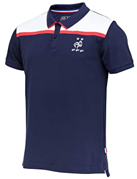 d1a872f2fa Equipe de FRANCE de football Polo FFF - Collection Officielle Taille Homme S
