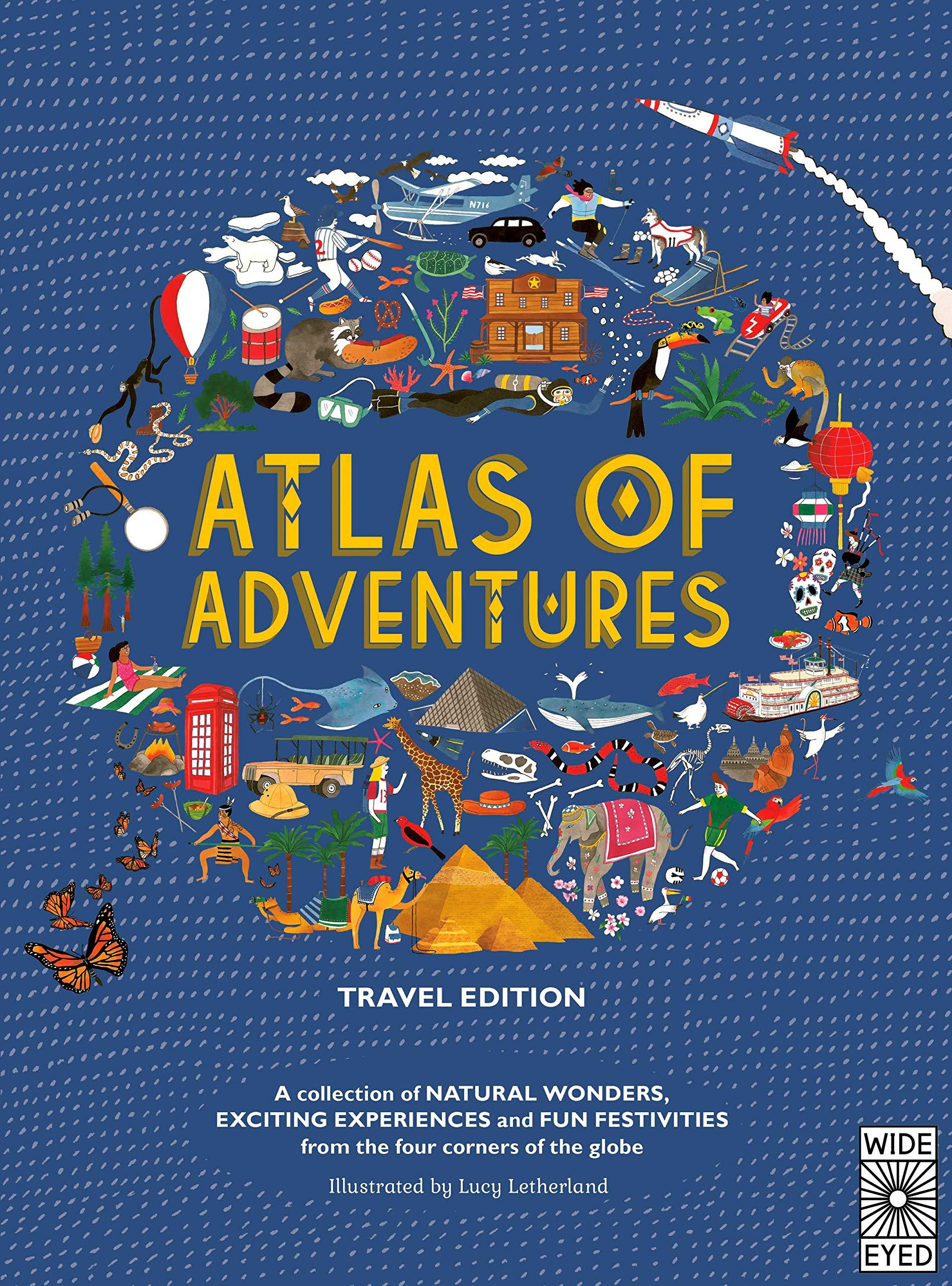 Letherland, L: Atlas of Adventures: Travel Edition: Amazon.es: Letherland, Lucy: Libros en idiomas extranjeros
