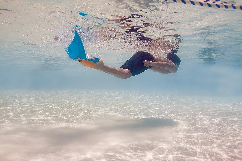 Sir/ène Palmes de natation pour enfant Monopalme Palmes de natation piscine Palmes pour fille//gar/çon par candora rouge
