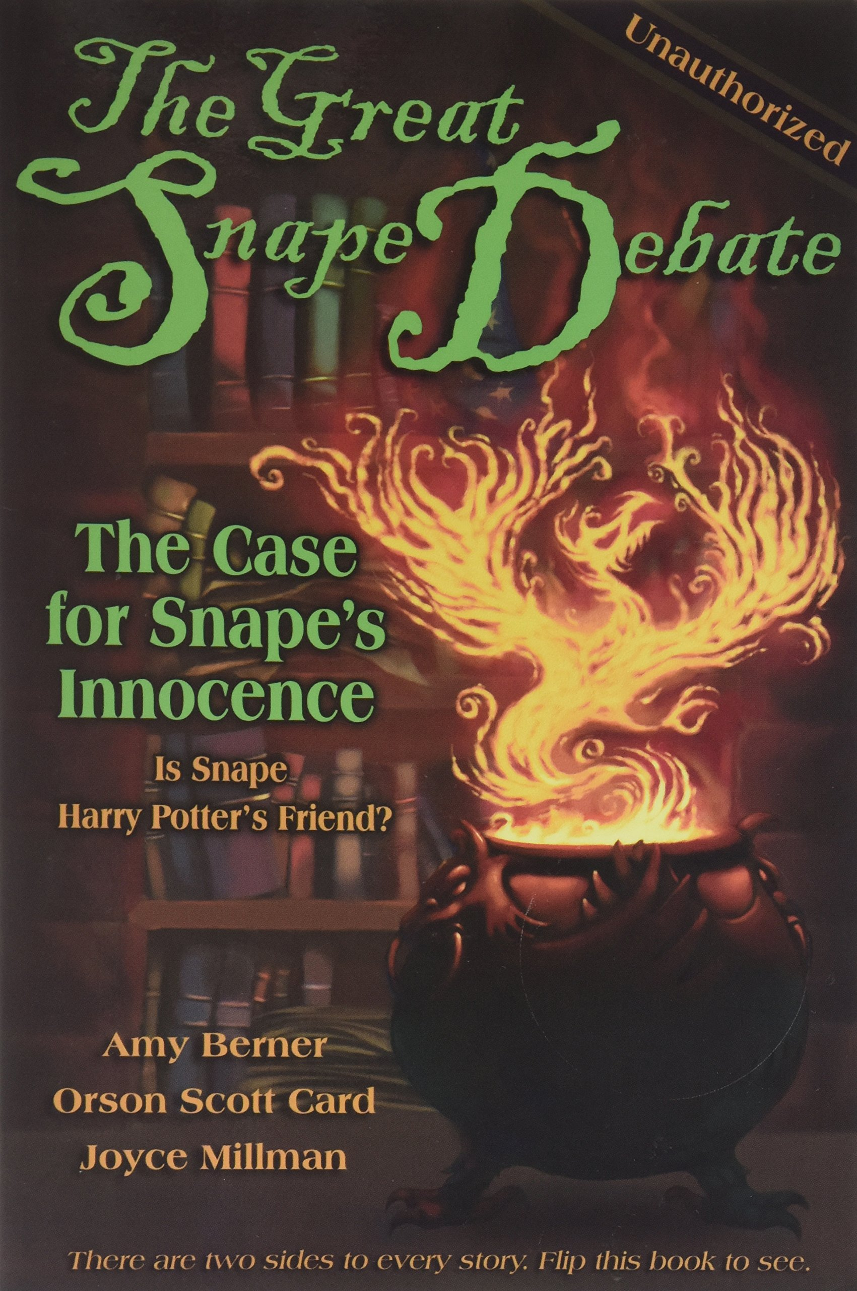Download The Great Snape Debate : The Case for Snape's Guilt / The Case of the Snape's Innocence pdf