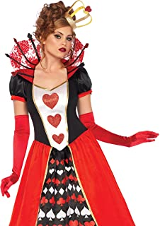 leg avenue womens deluxe queen of hearts costume