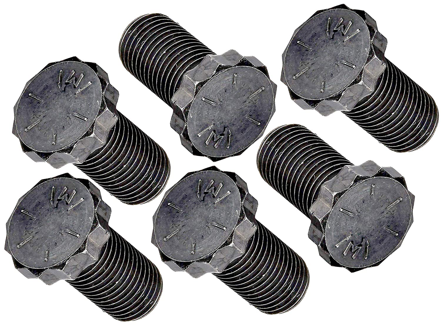 APDTY 85181 Flywheel Bolts Thread 7//16-20 Length .900 In // 22.86mm Pack Of 6
