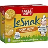 UNCLE TOBYS Le Snak Nacho Cheese Dip & Crackers 6 Pack, 132g