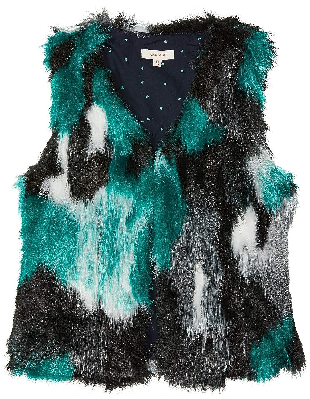 Catimini Girl's Gilet Sans Manches Pour Cardigan CM16015