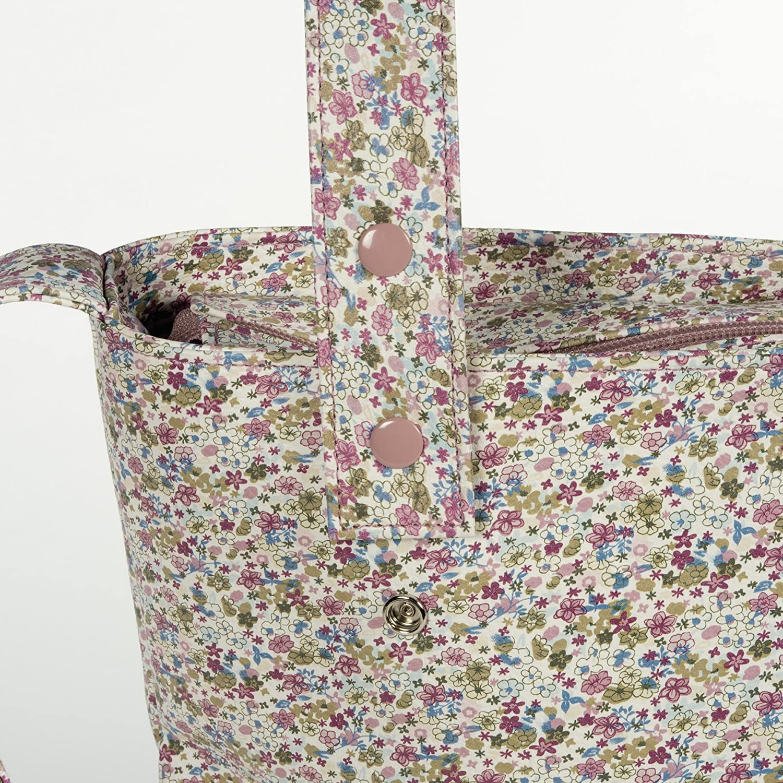 Pasito a Pasito 73965 - Bolsa panera con flores