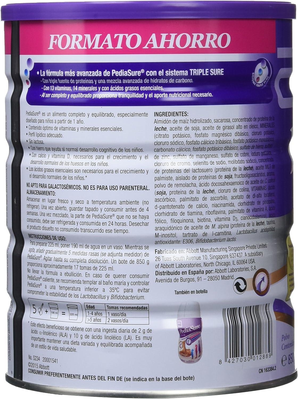 PediaSure - Complemento Alimenticio para Niños con Proteínas ...