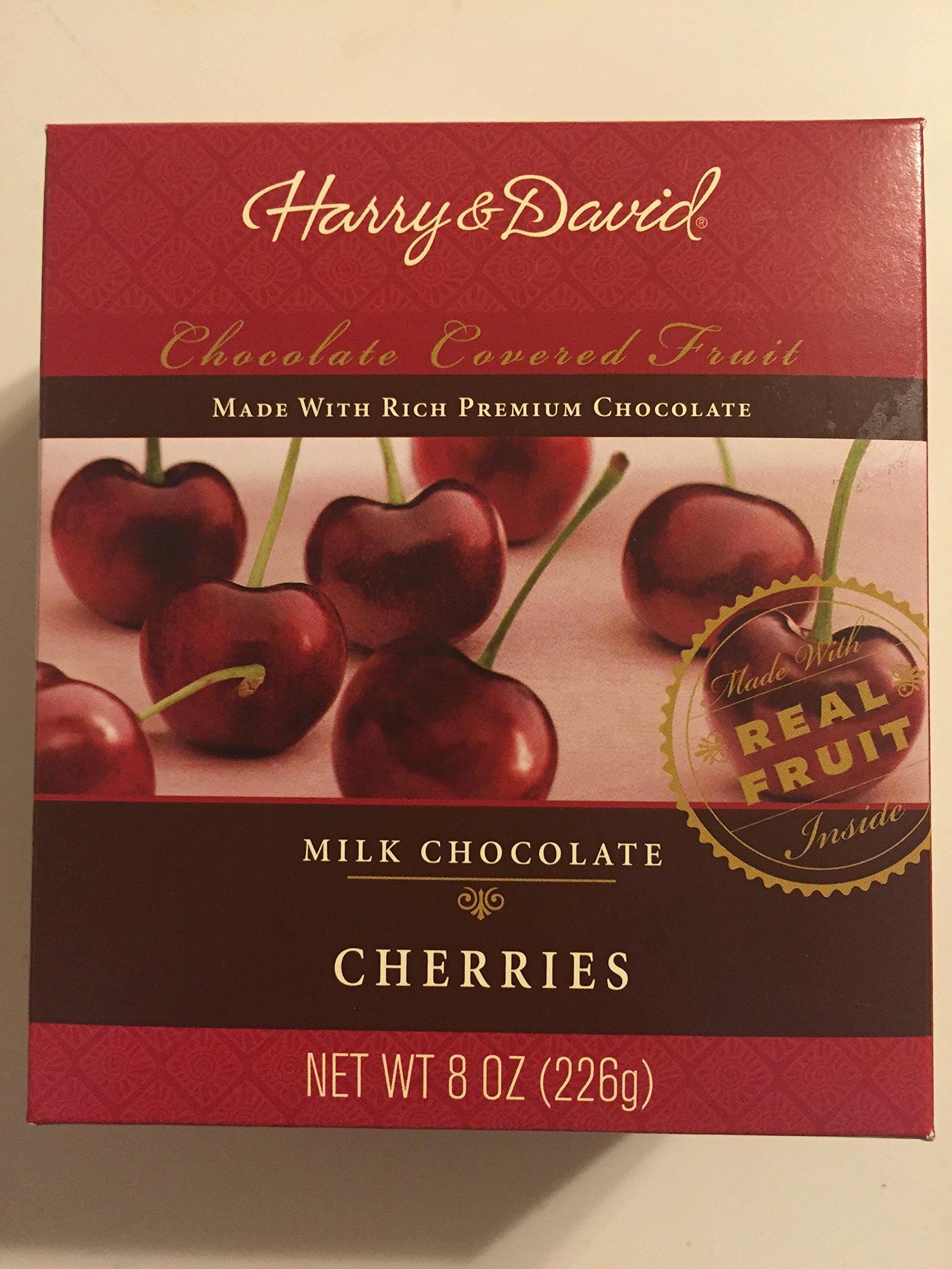Harry And David Milk Chocolate Cherries